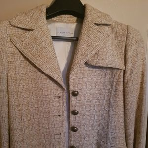 Banana Republic Tweed Trench Coat